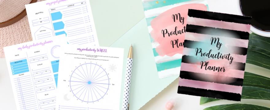 Pretty Pastel Colors Productivity Planner Printables Are Out!