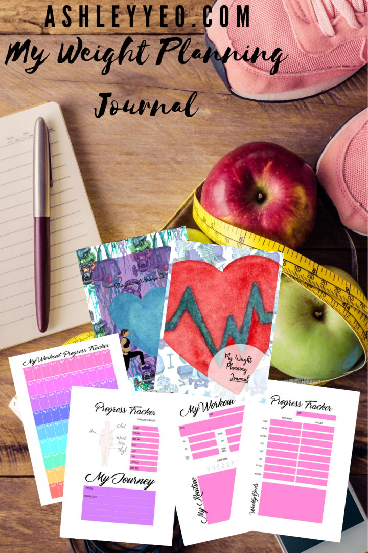 My Pretty Weight Planning Journal Printables