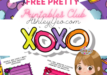 Free Pretty Positivity Printables Princess Club