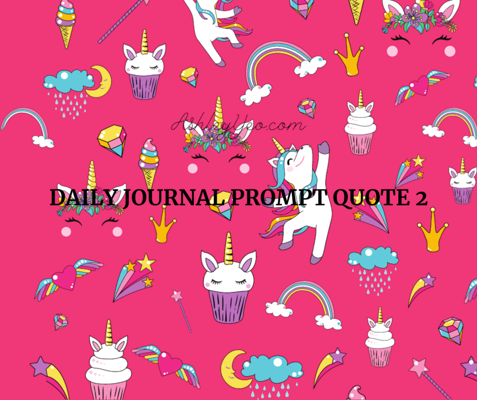 Daily Journal Prompt Quote 2