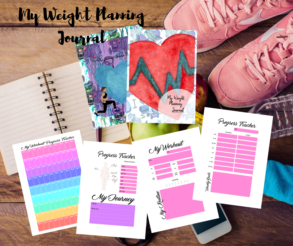 My Pretty Weight Planning Journal Printables Are Out!