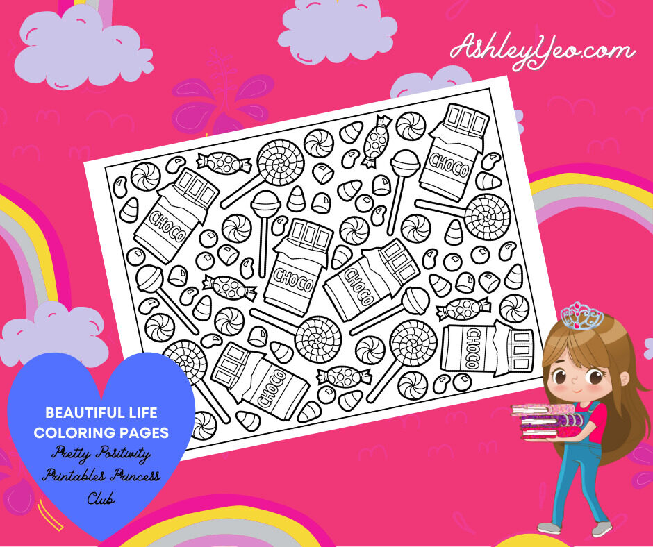 Beautiful Life Coloring Page 27