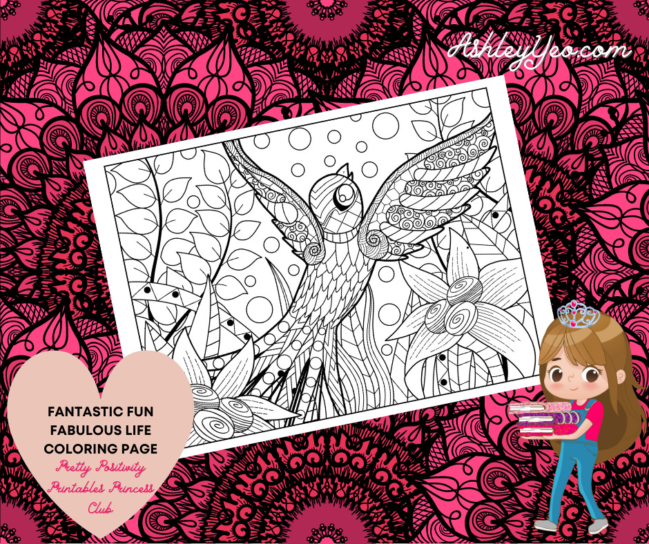 Fantastic Fun Fabulous Life Coloring Page 35