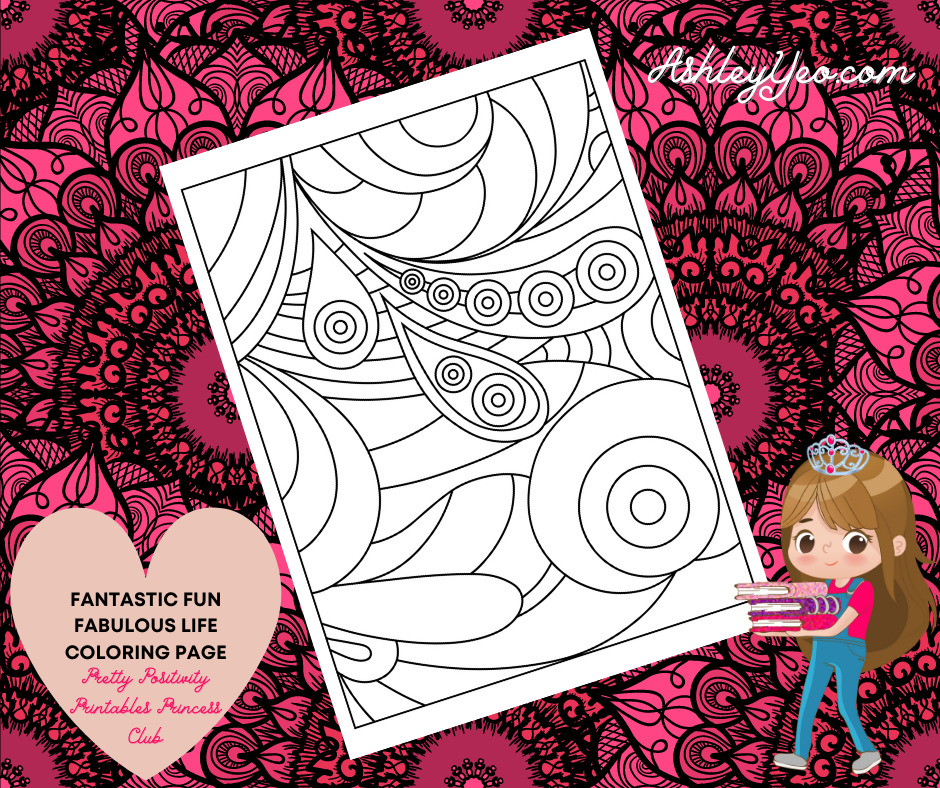 Fantastic Fun Fabulous Life Coloring Page 44