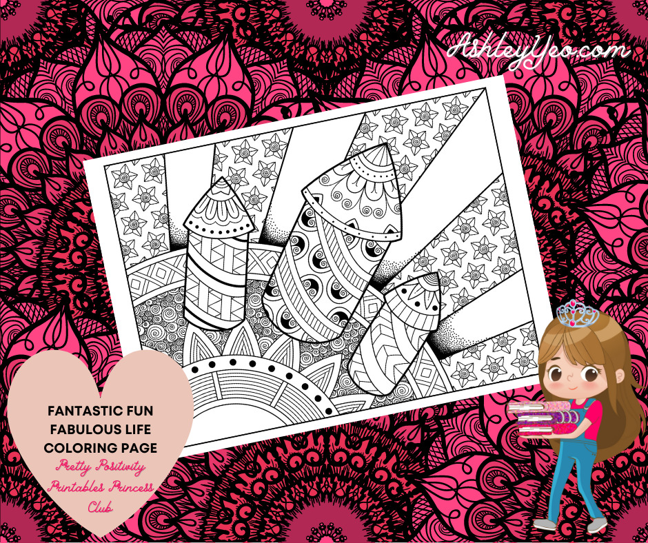 Fantastic Fun Fabulous Life Coloring Page 78