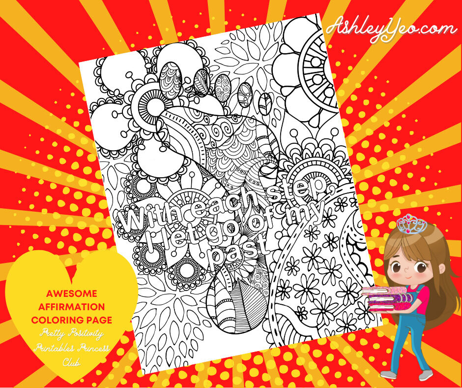 Awesome Affirmation Coloring Page 8