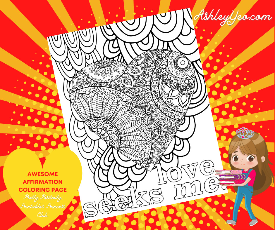 Awesome Affirmation Coloring Page 16