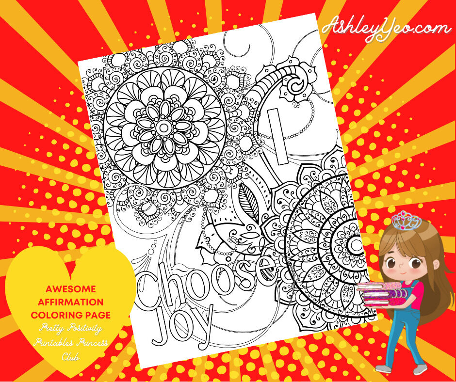 Awesome Affirmation Coloring Page 17