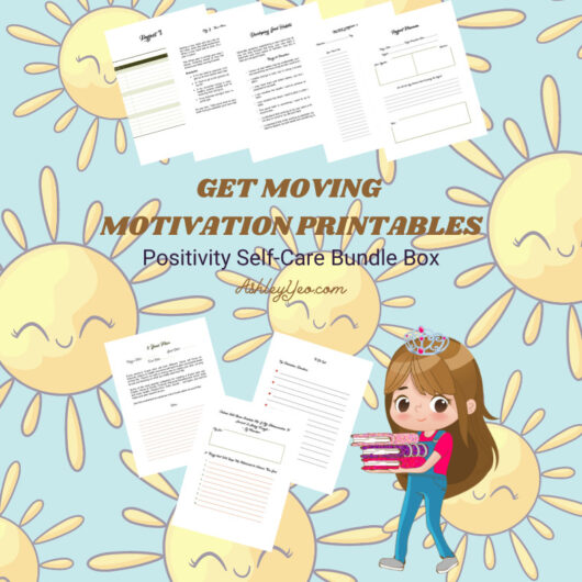 Get Moving Motivation Printables Bundle Box