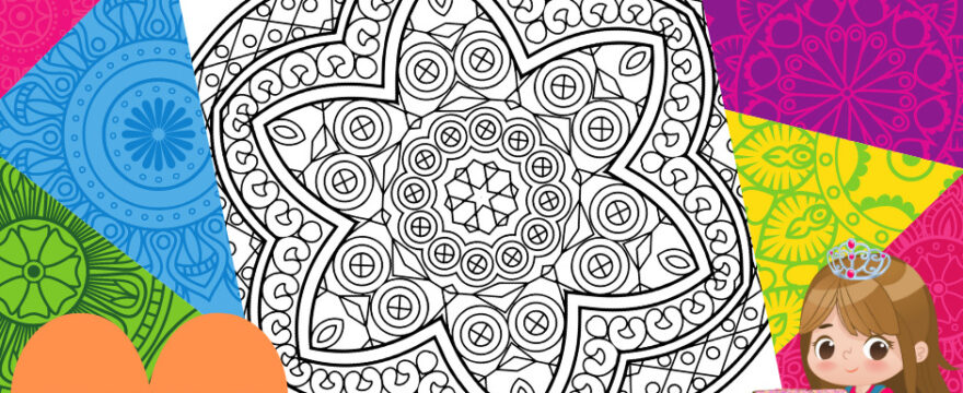 New Mandala Coloring Pages For You