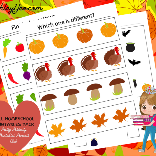 Fall Homeschool Printables Pack