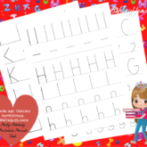 Learn Your ABCs Tracing Homeschool Printables Pack