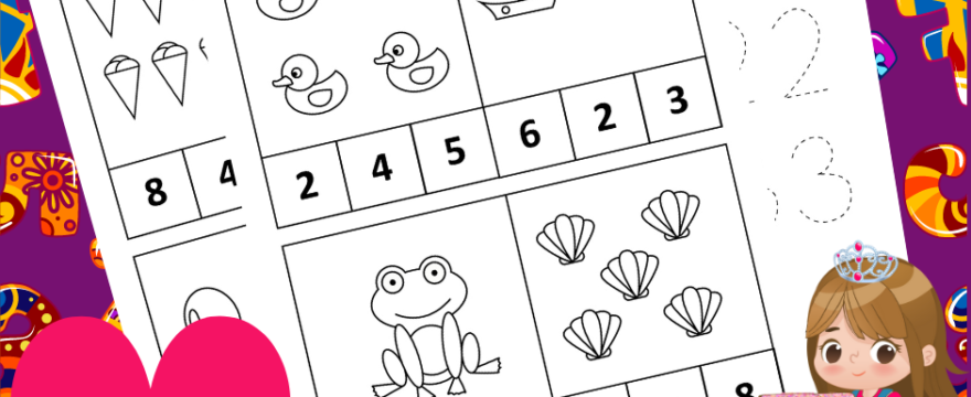 Learn Numbers Homeschool Activity Printables Pack Is Out