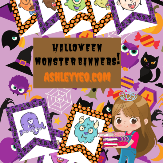 Halloween Monster Banners