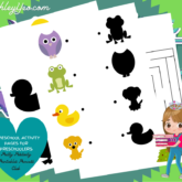 Homeschool Activity Pages For Preschoolers Set Is Out!