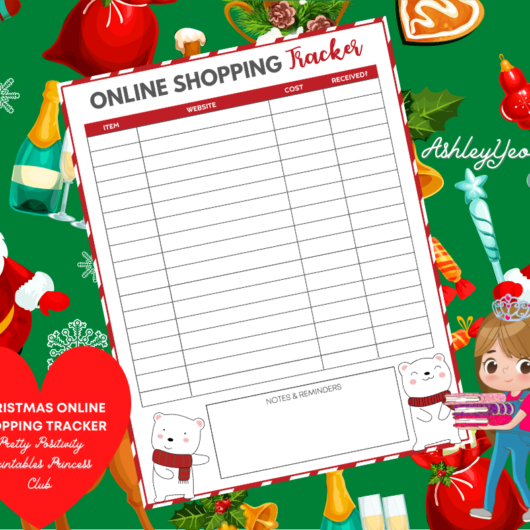 Christmas Online Shopping Tracker