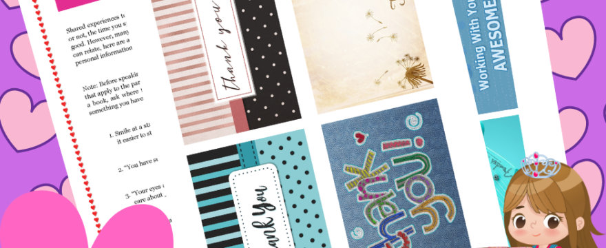 Awesome Random Acts Of Kindness Bundle of Pretty Printables Is Out!