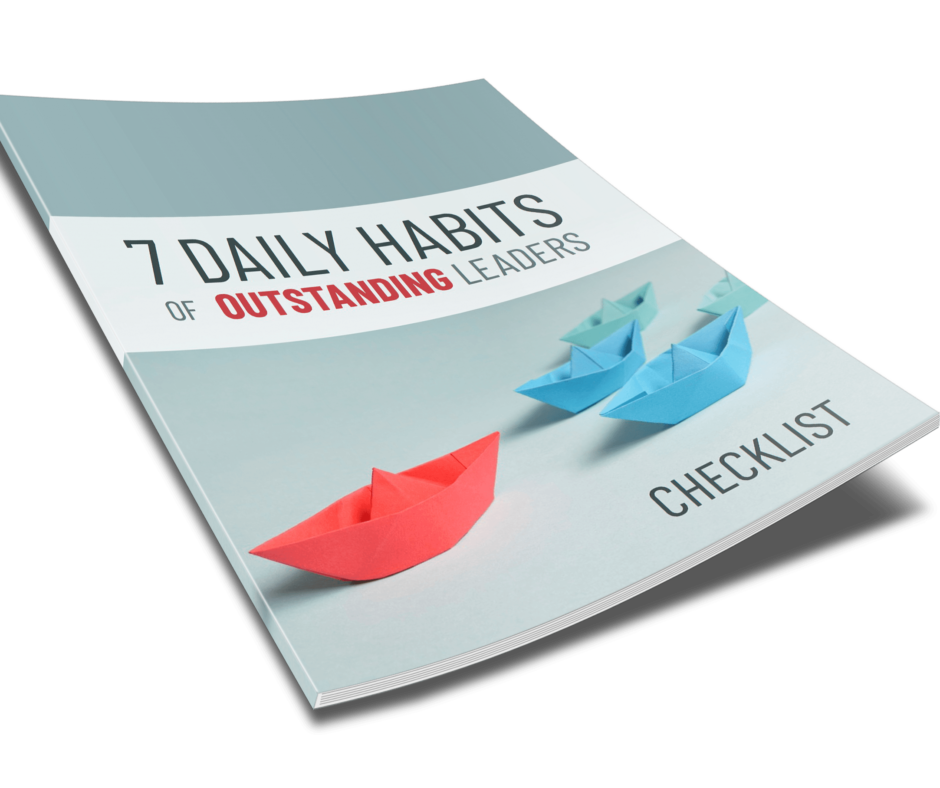 7 Daily Habits Of Outstanding Leaders Checklist
