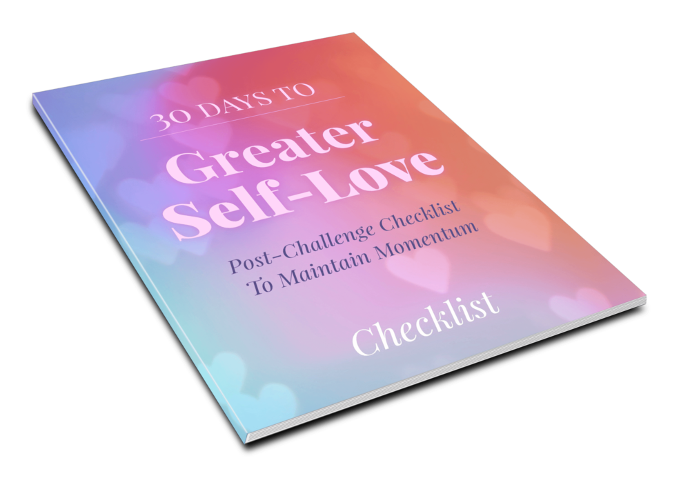 30 Days To Greater Self Love - Checklist - 1
