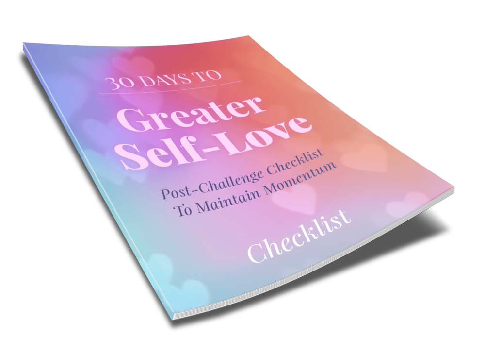 30 Days To Greater Self Love - Checklist - 2