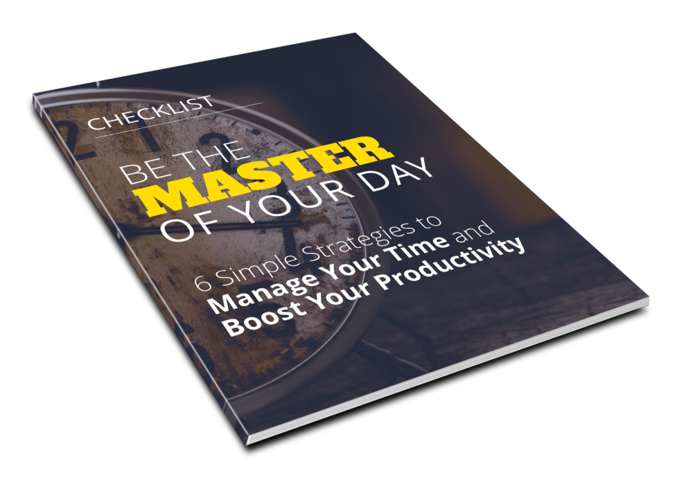 Be the Master of Your Day - Checklist - 1