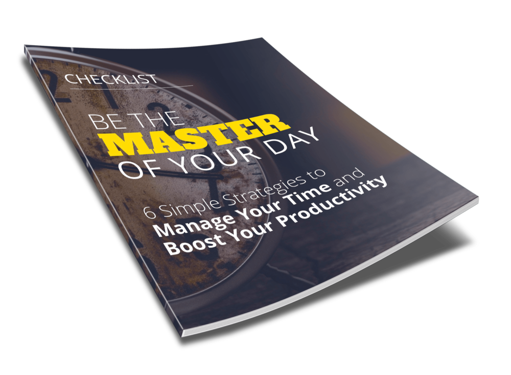 Be the Master of Your Day - Checklist - 2