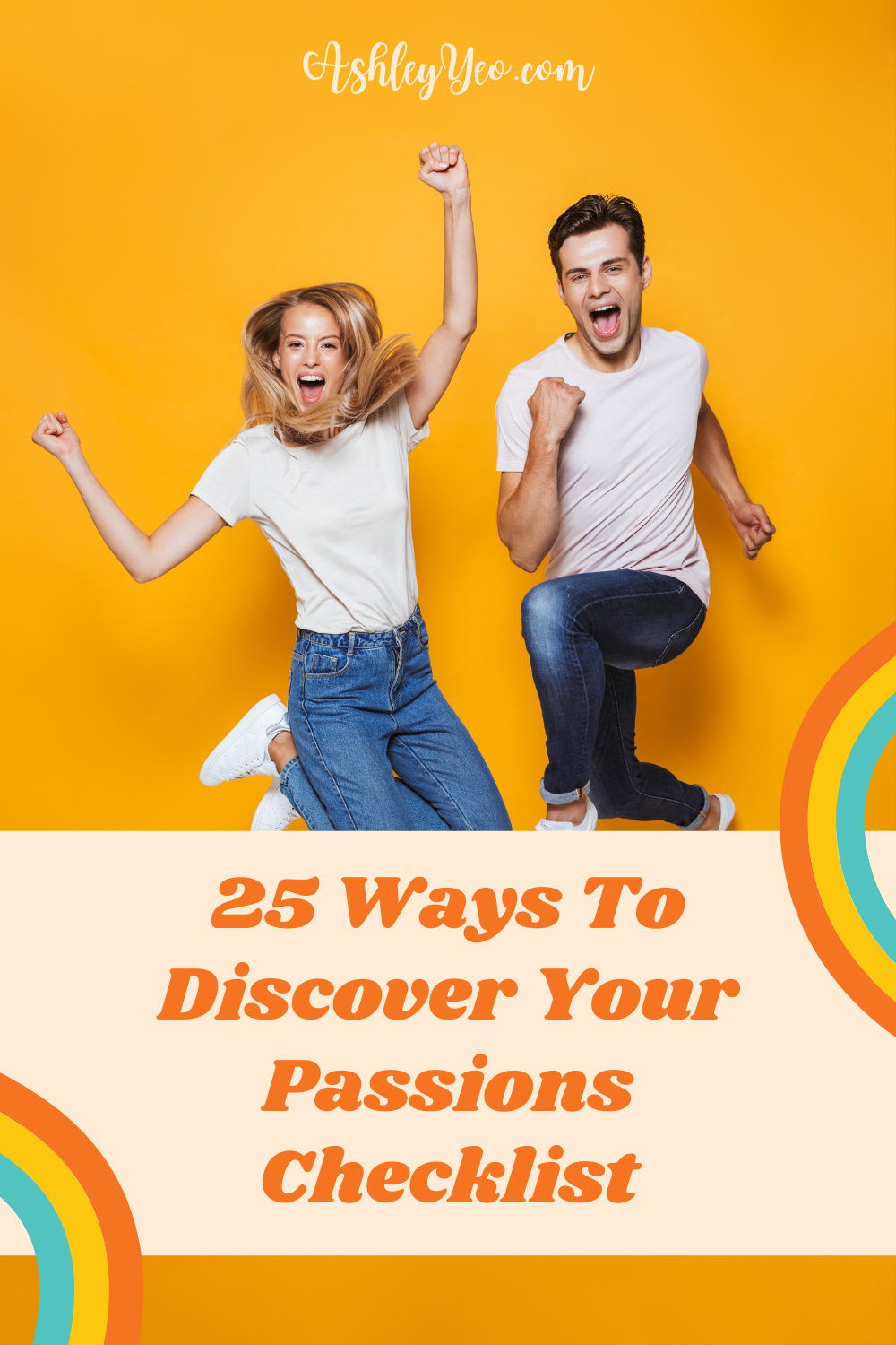 25 Ways To Discover Your Passions