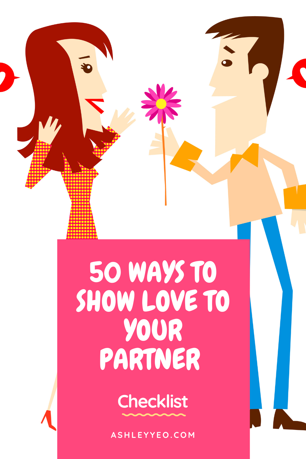 50 Ways To Show Love To Your Partner