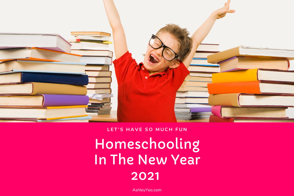 Let's Have So Much Fun Homeschooling In The New Year 2021