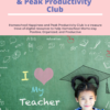 Homeschool Happiness and Peak Productivity Club (ex Pretty Positivity Printables Princess Club)