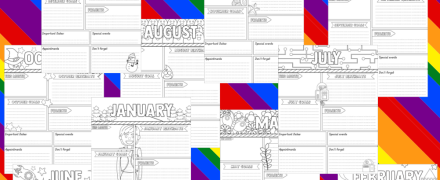 Have You Downloaded Your Colossal Bundle Of Coloring Calendar Planner Printables?