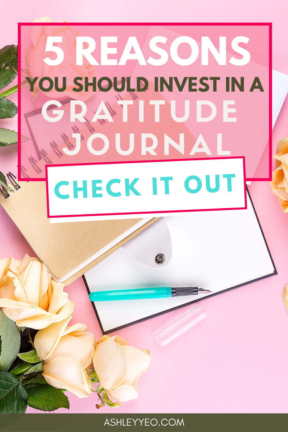 Five Reasons You Should Invest in a Gratitude Journal