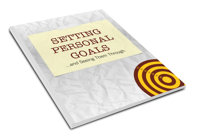 Setting Personal Goals and Seeing Them Through E-Book And Workbook Bundle