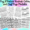 I Pay It Forward Kindness Coloring and Craft Page Printables