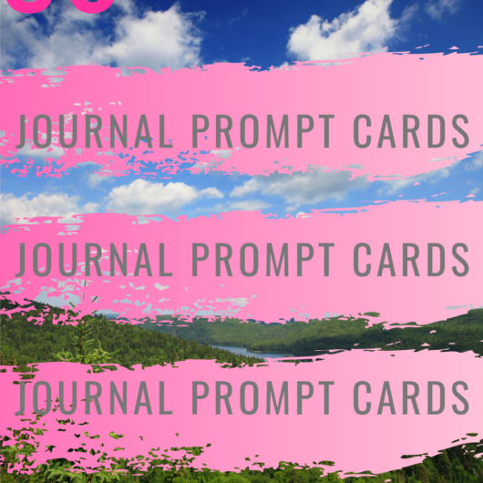 36 Peace Happiness Journal Prompt Cards