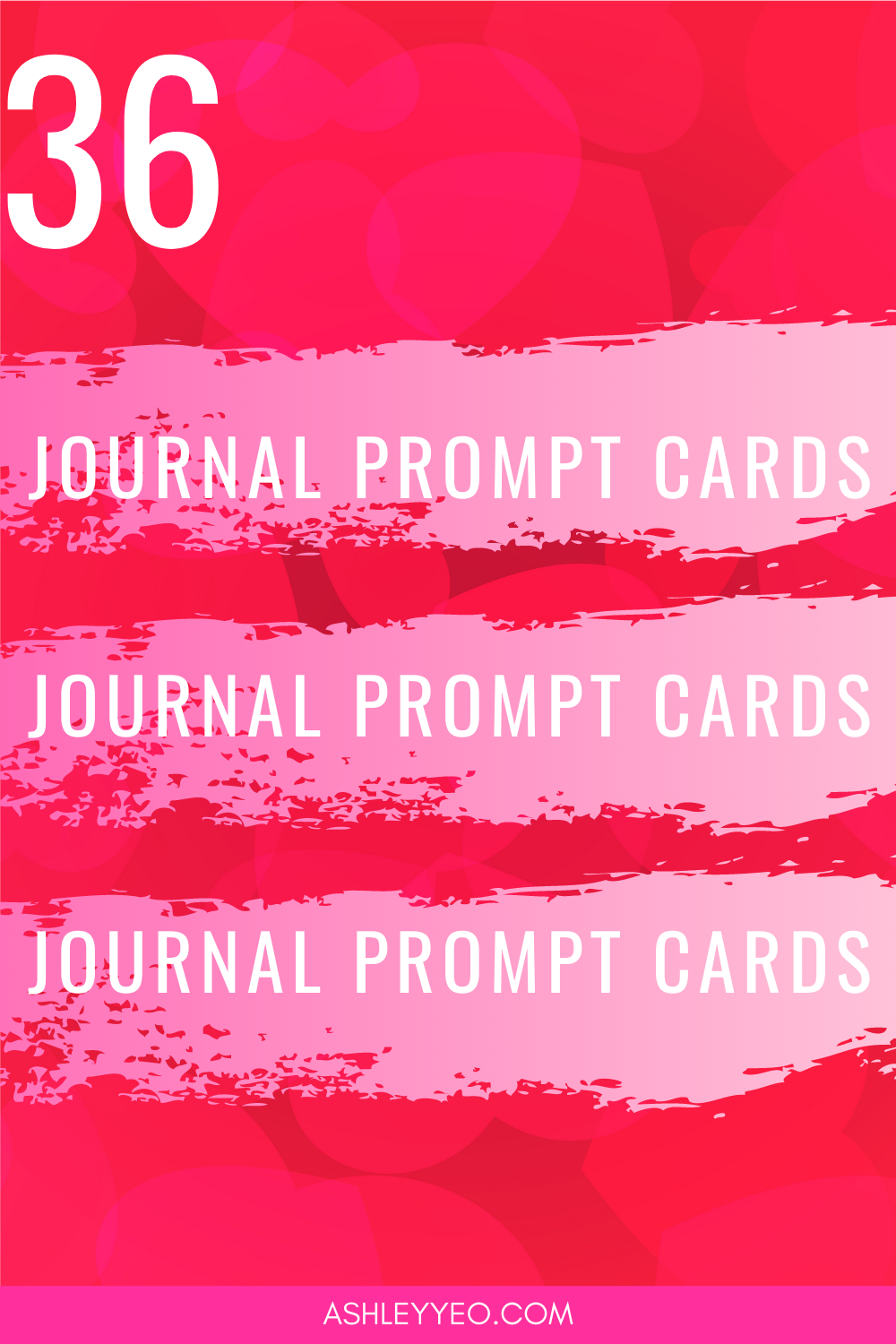 36 Abundance Affirmation Journal Prompt Cards