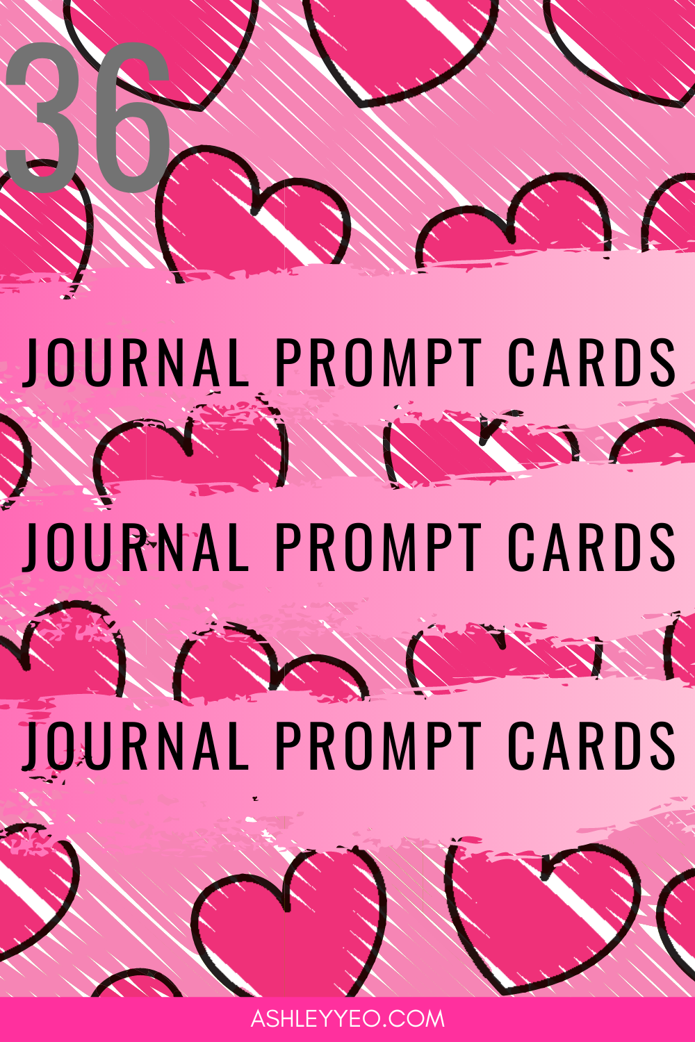 36 Love and Relationship Journal Prompt Cards Set 2