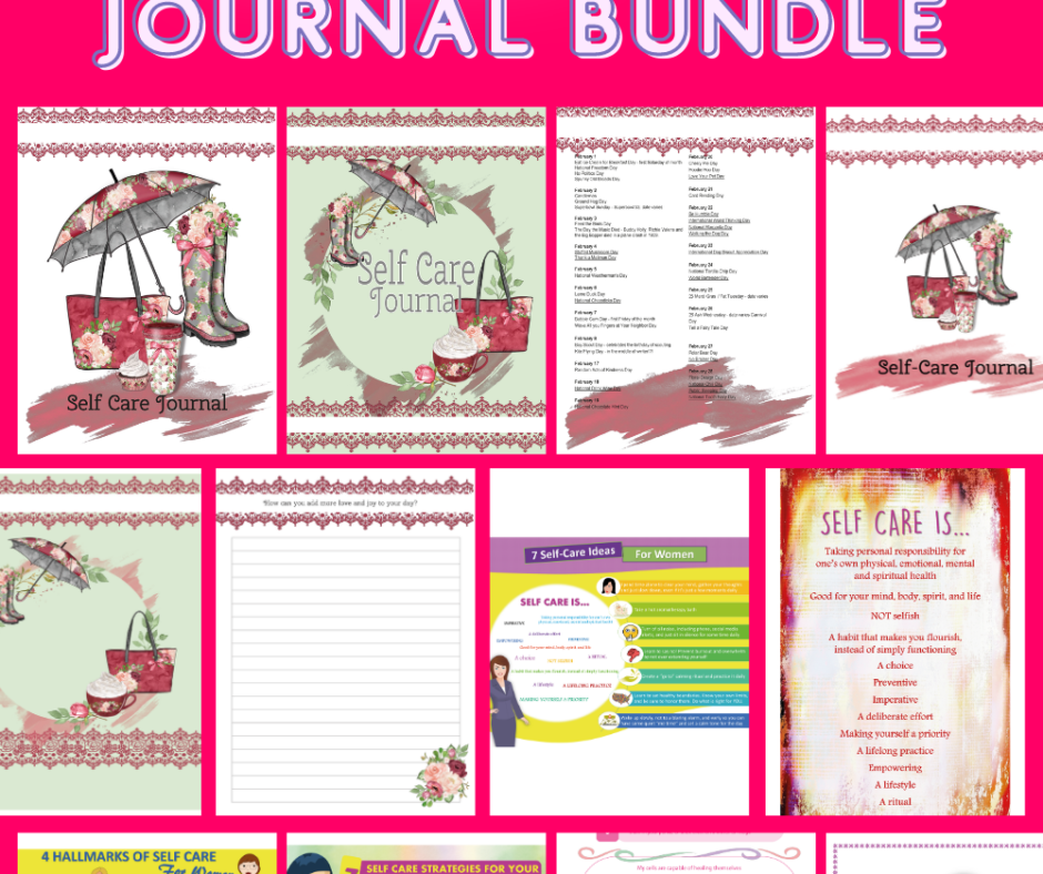 Download Your Soothing Self-Care Journal Bundle Now