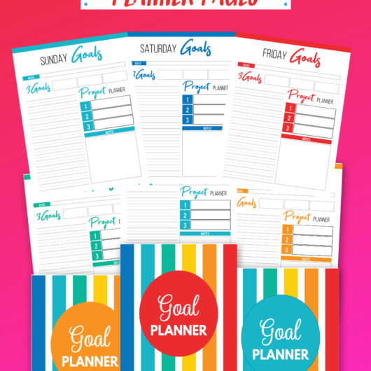 Gorgeous Goals Planner Printable