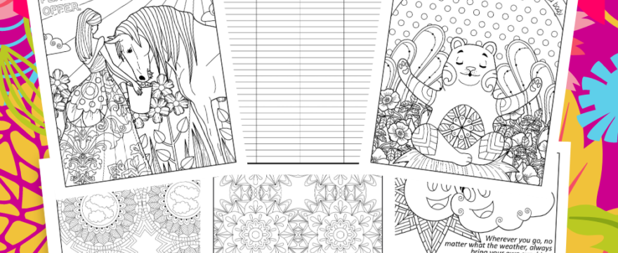 March Madness Coloring Pages For Fun