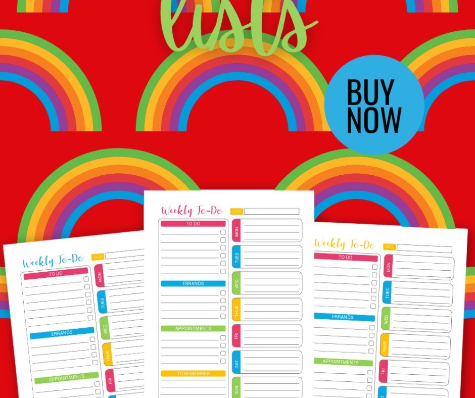 Pretty To Do List Paper Printable For Your Cute Planners
