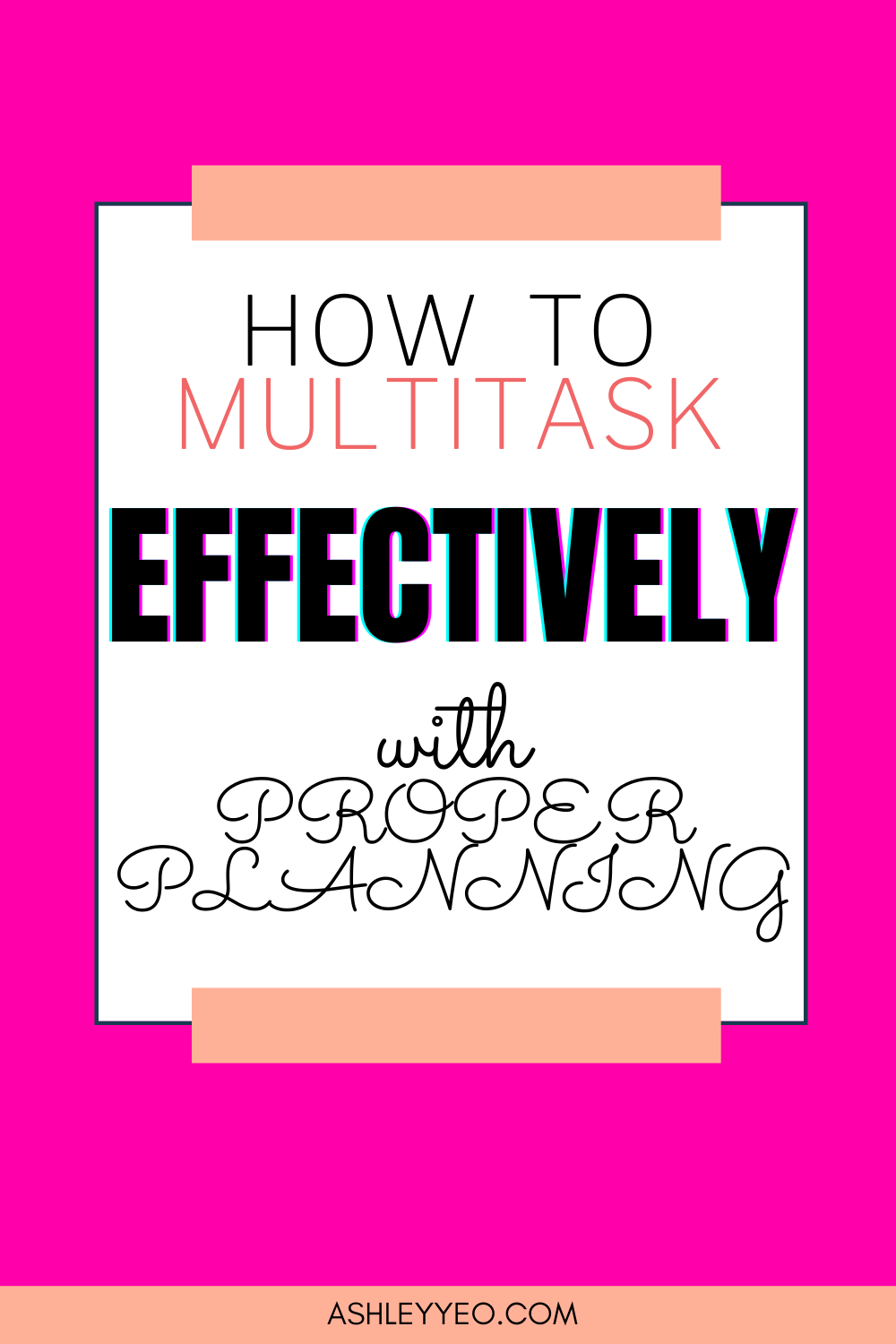 How To Multitask