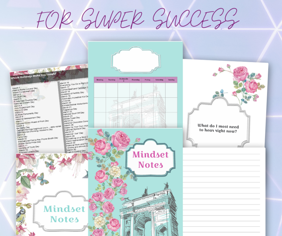 Download Your New Mindset Journal Now