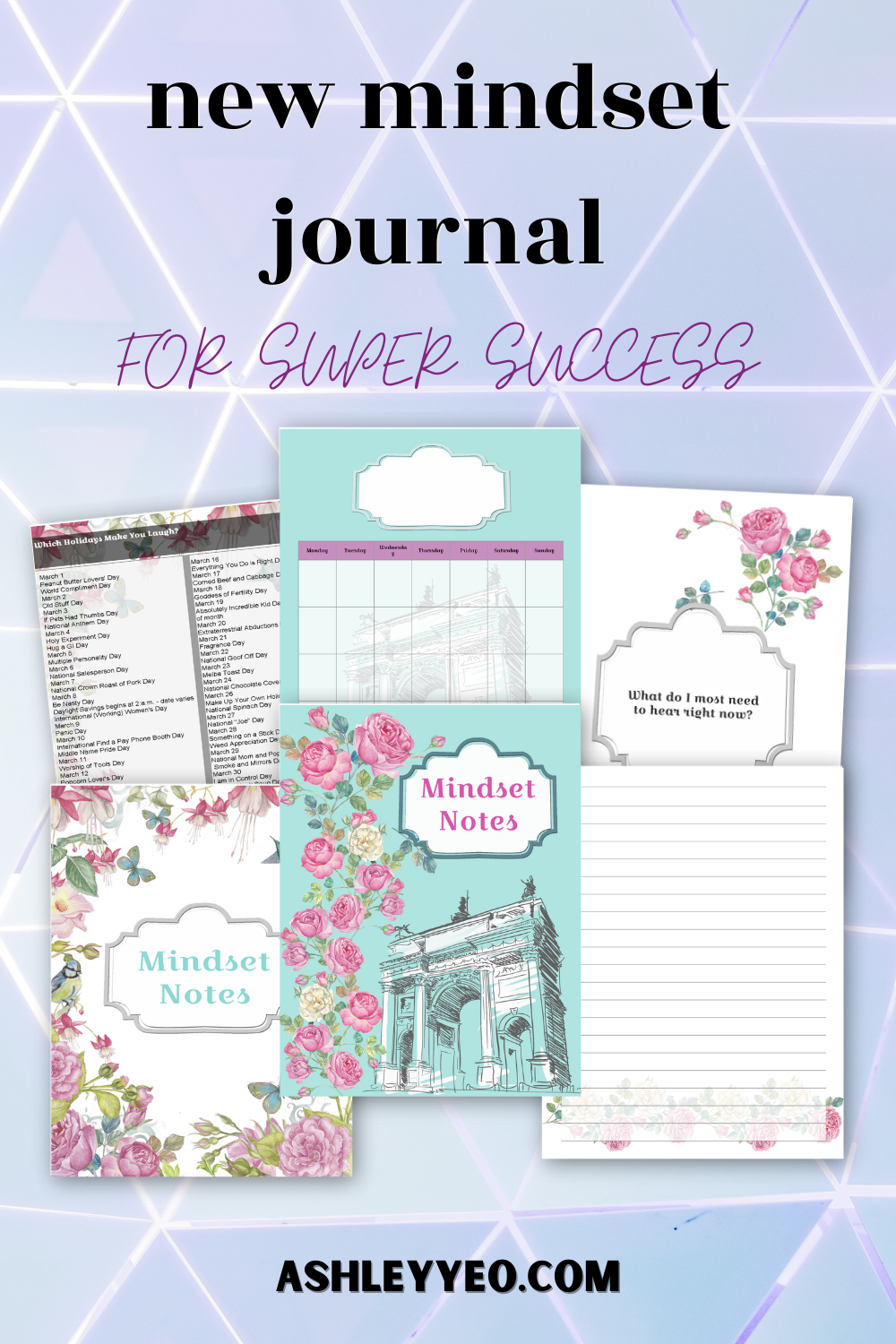 New Mindset Journal For Super Success