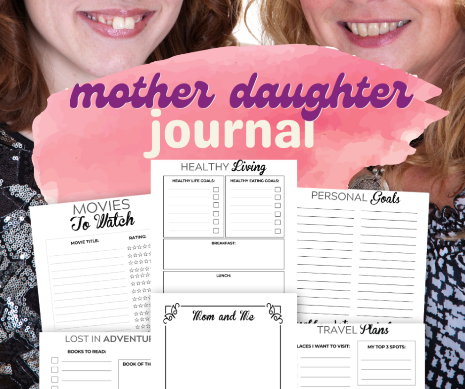 Mother Daughter Journal For Heart To Heart Sessions