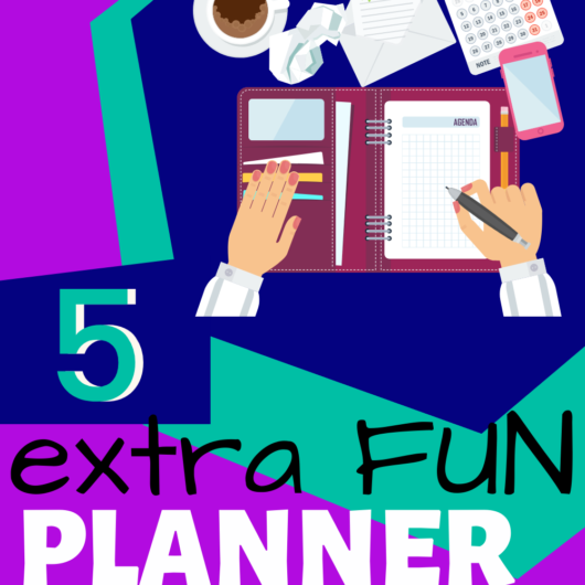 Fun Extra Planner Pages