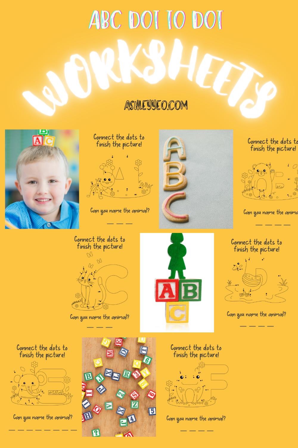 ABC Dot To Dot For Preschoolers