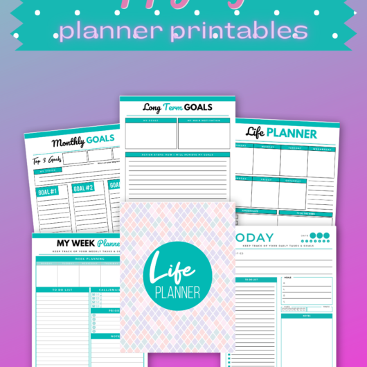 Plan A Happy Life Planner