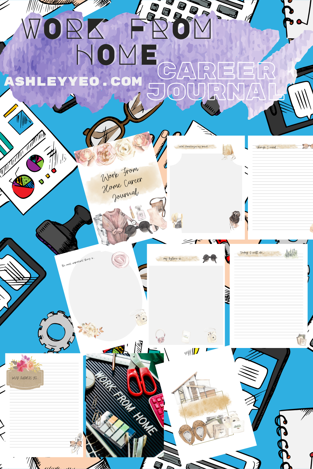 Work From Home Journal PDF
