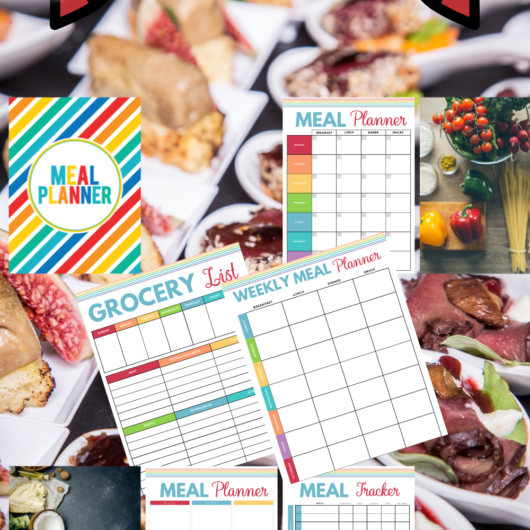 Kitchen and Meals Printables